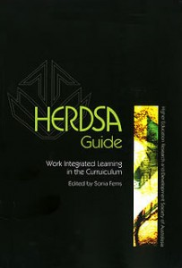 HERDSA Guide - Work Integrated Learning in the Curriculum, edited by Sonia Ferns